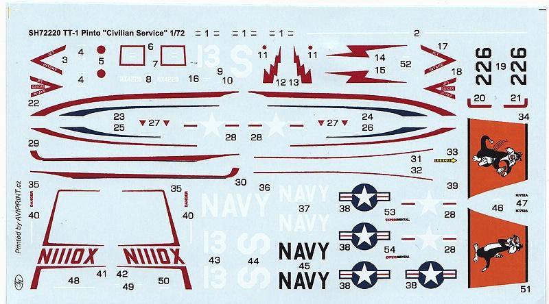 Special-Hobby-SH-72220-TT-1-Pinto-in-Civilian-Service-3 TT-1 Pinto Civilian Service in 1:72 von Special Hobby #SH 72220