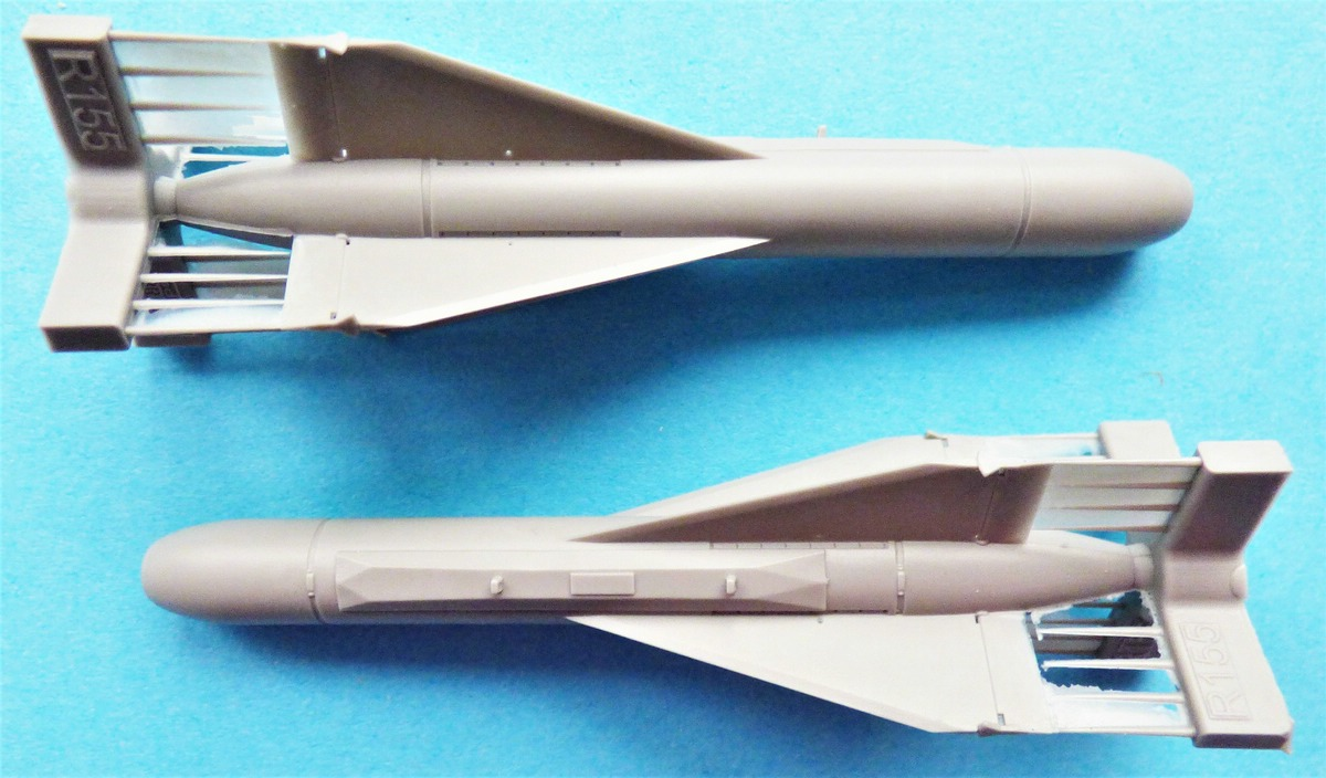 Eduard-648614-AGM-62-Walleye-3 AGM-62 Walleye I Mk.I Lenkbombe von Eduard in 1:48 #648614