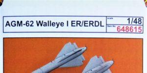 AGM-62 Walleye I ER/ERDL Lenkbombe von Eduard in 1:48 #648615