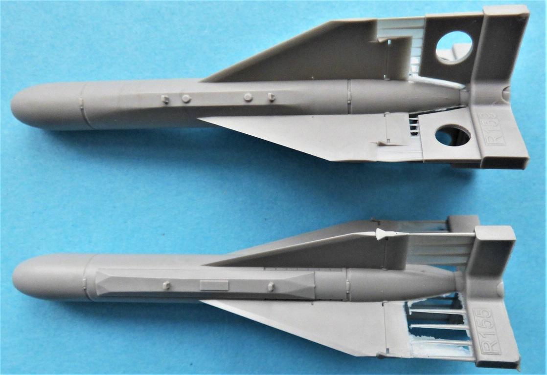 Eduard-648615-AGM-62-Walleye-I-5 AGM-62 Walleye I ER/ERDL Lenkbombe von Eduard in 1:48 #648615