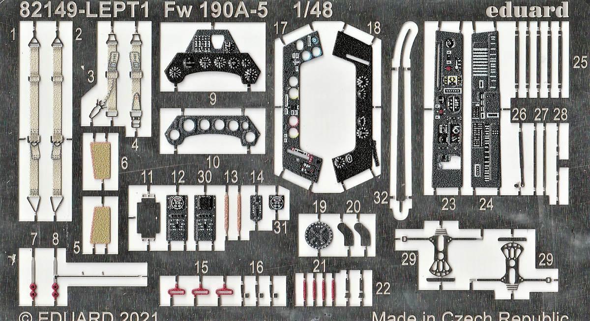 Eduard-82149-Focke-Wulf-Fw190A-5-Profi-Pack-13 Focke Wulf Fw190A-5 Profi-Pack von Eduard #82149