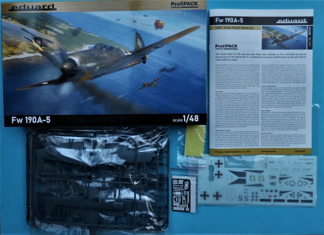 Eduard-82149-Focke-Wulf-Fw190A-5-Profi-Pack-2 Focke Wulf Fw190A-5 Profi-Pack von Eduard #82149
