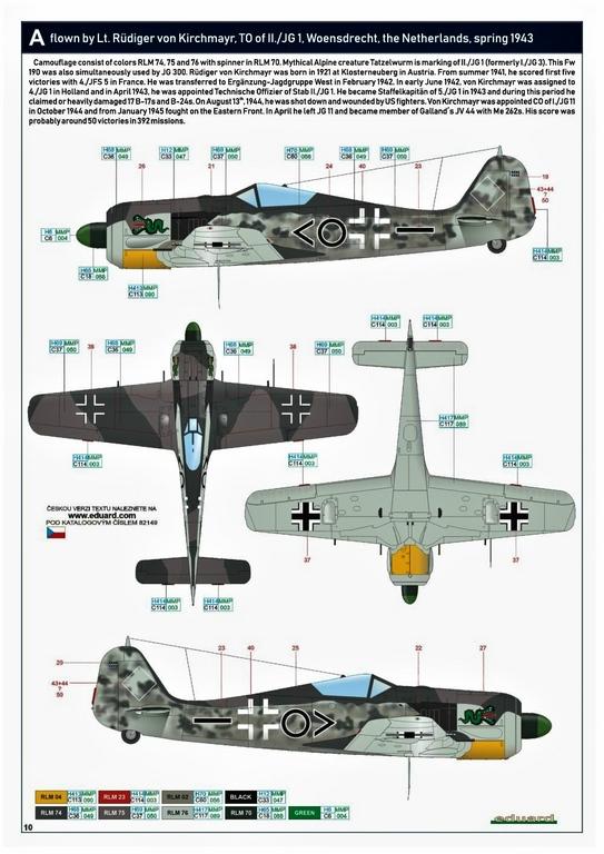 Eduard-82149-Focke-Wulf-Fw190A-5-Profi-Pack-26 Focke Wulf Fw190A-5 Profi-Pack von Eduard #82149