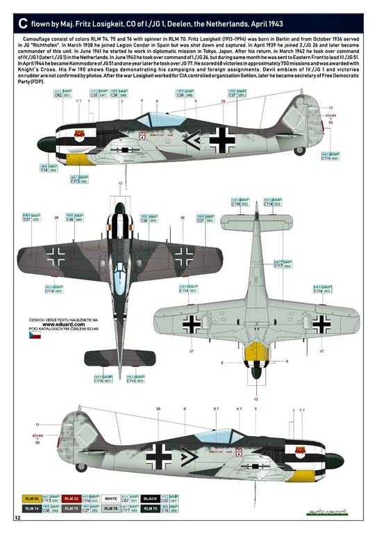Eduard-82149-Focke-Wulf-Fw190A-5-Profi-Pack-28 Focke Wulf Fw190A-5 Profi-Pack von Eduard #82149