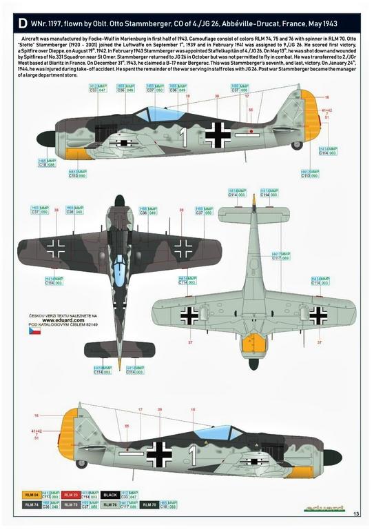 Eduard-82149-Focke-Wulf-Fw190A-5-Profi-Pack-29 Focke Wulf Fw190A-5 Profi-Pack von Eduard #82149