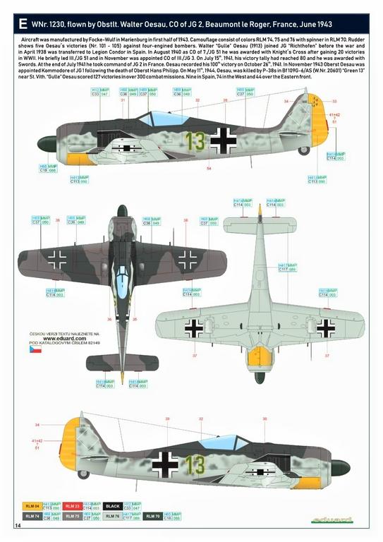 Eduard-82149-Focke-Wulf-Fw190A-5-Profi-Pack-30 Focke Wulf Fw190A-5 Profi-Pack von Eduard #82149