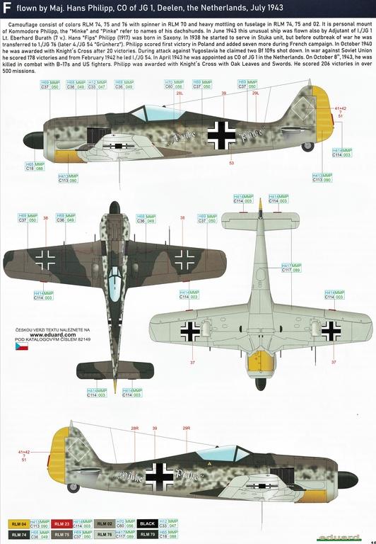 Eduard-82149-Focke-Wulf-Fw190A-5-Profi-Pack-31 Focke Wulf Fw190A-5 Profi-Pack von Eduard #82149