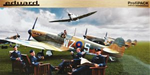 Spitfire Mk. I early als Profi-Pack von Eduard in 1:48 #82152