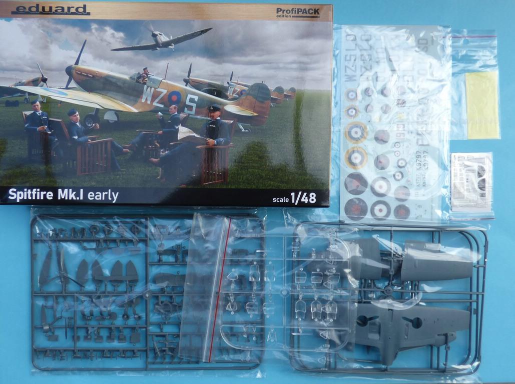 Eduard-82152-Spitfire-Mk.-I-early-ProfiPack-3 Spitfire Mk. I early als Profi-Pack von Eduard in 1:48 #82152