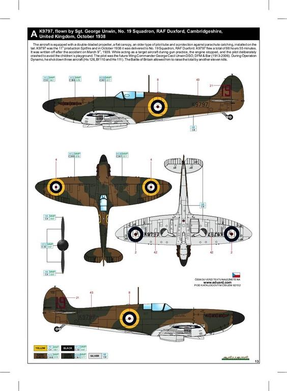 Eduard-82152-Spitfire-Mk.-I-early-ProfiPack-46 Spitfire Mk. I early als Profi-Pack von Eduard in 1:48 #82152