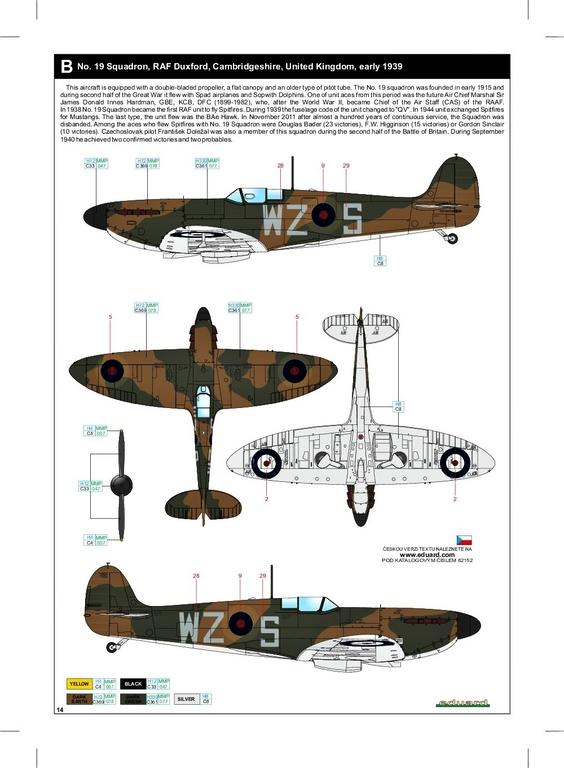 Eduard-82152-Spitfire-Mk.-I-early-ProfiPack-47 Spitfire Mk. I early als Profi-Pack von Eduard in 1:48 #82152