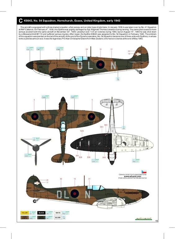 Eduard-82152-Spitfire-Mk.-I-early-ProfiPack-48 Spitfire Mk. I early als Profi-Pack von Eduard in 1:48 #82152