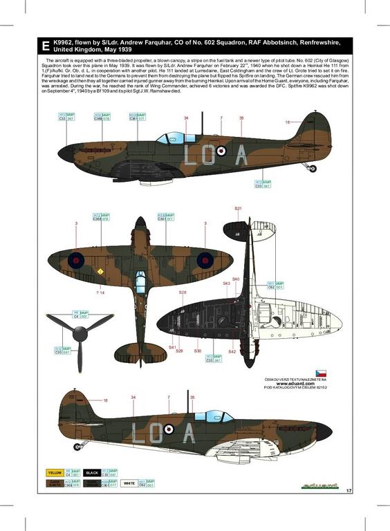 Eduard-82152-Spitfire-Mk.-I-early-ProfiPack-50 Spitfire Mk. I early als Profi-Pack von Eduard in 1:48 #82152