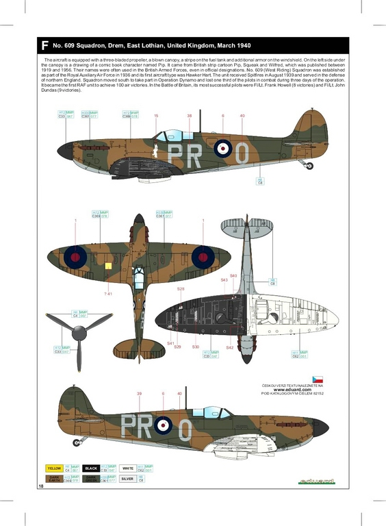 Eduard-82152-Spitfire-Mk.-I-early-ProfiPack-51 Spitfire Mk. I early als Profi-Pack von Eduard in 1:48 #82152