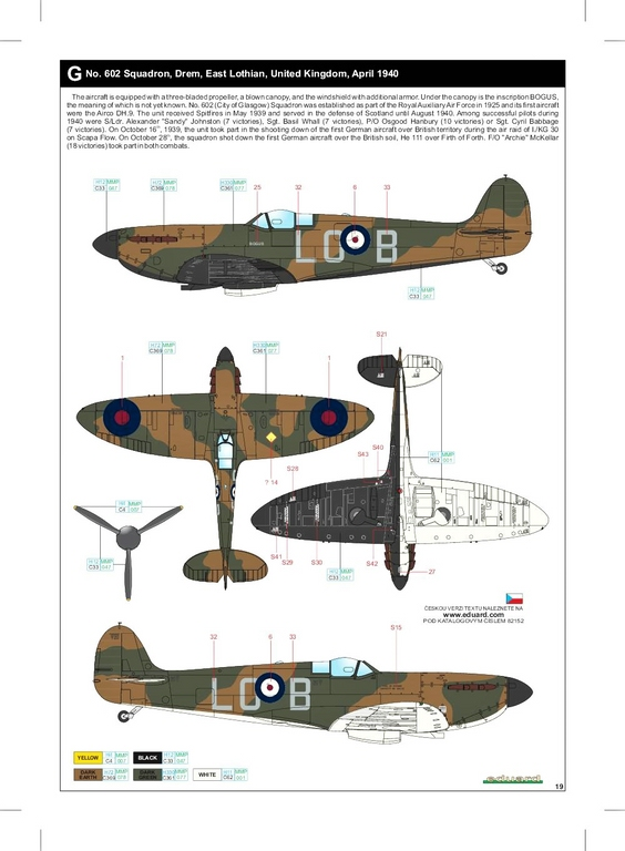 Eduard-82152-Spitfire-Mk.-I-early-ProfiPack-52 Spitfire Mk. I early als Profi-Pack von Eduard in 1:48 #82152