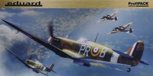 Spitfire Mk. IIa in 1:48 als ProfiPack von Eduard #82153