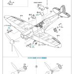 Eduard-82153-Spitfire-MK.IIa-PROFIPACK-16-150x150 Spitfire Mk. IIa in 1:48 als ProfiPack von Eduard #82153