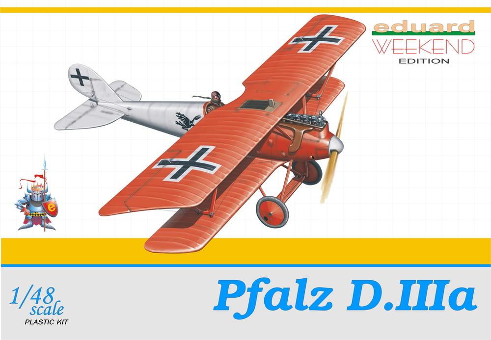 Eduard-8416-Pfalz-D.IIIa-WEEKEND Pfalz D.IIIa in 1:48 von Eduard als WEEKEND-Edition #8414