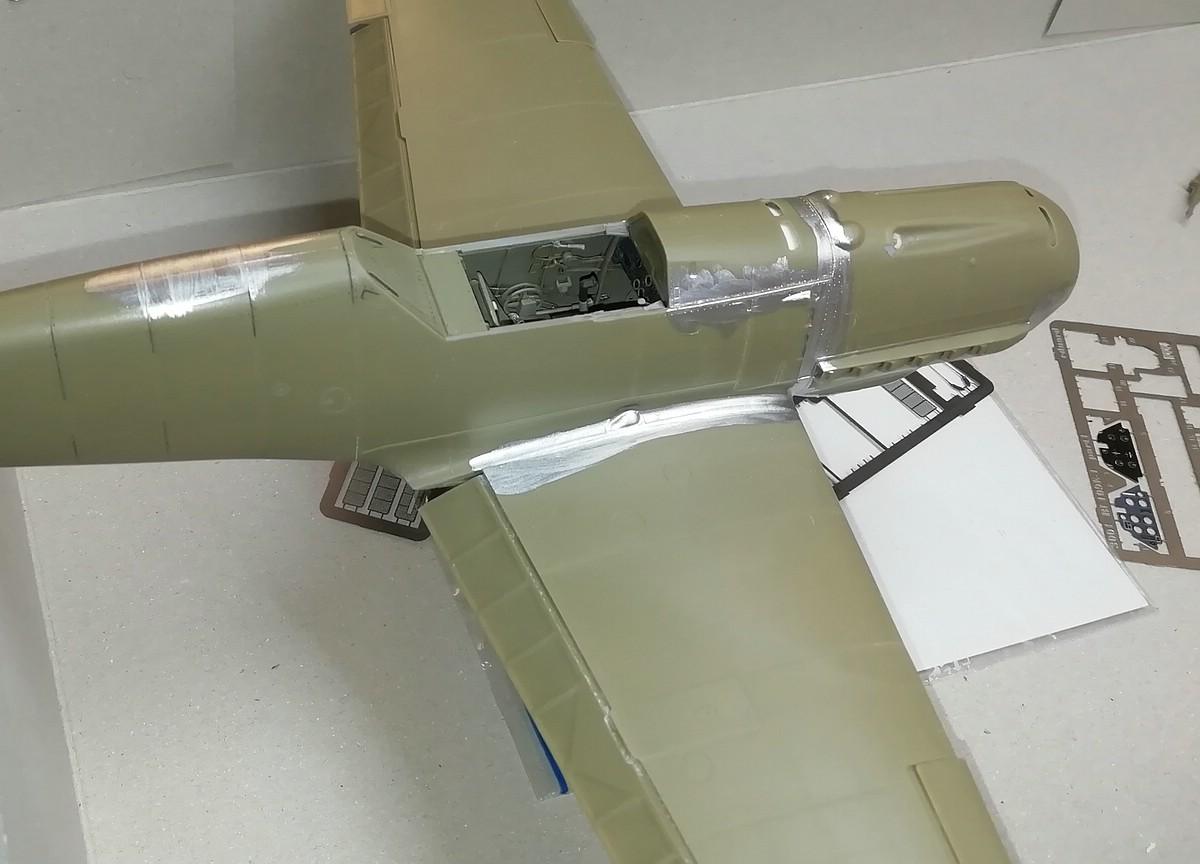Eduard-Bf-109-E-1-Baubericht-18 Werkstattbericht: Bf 109 E-1 in 1:32 von Eduard