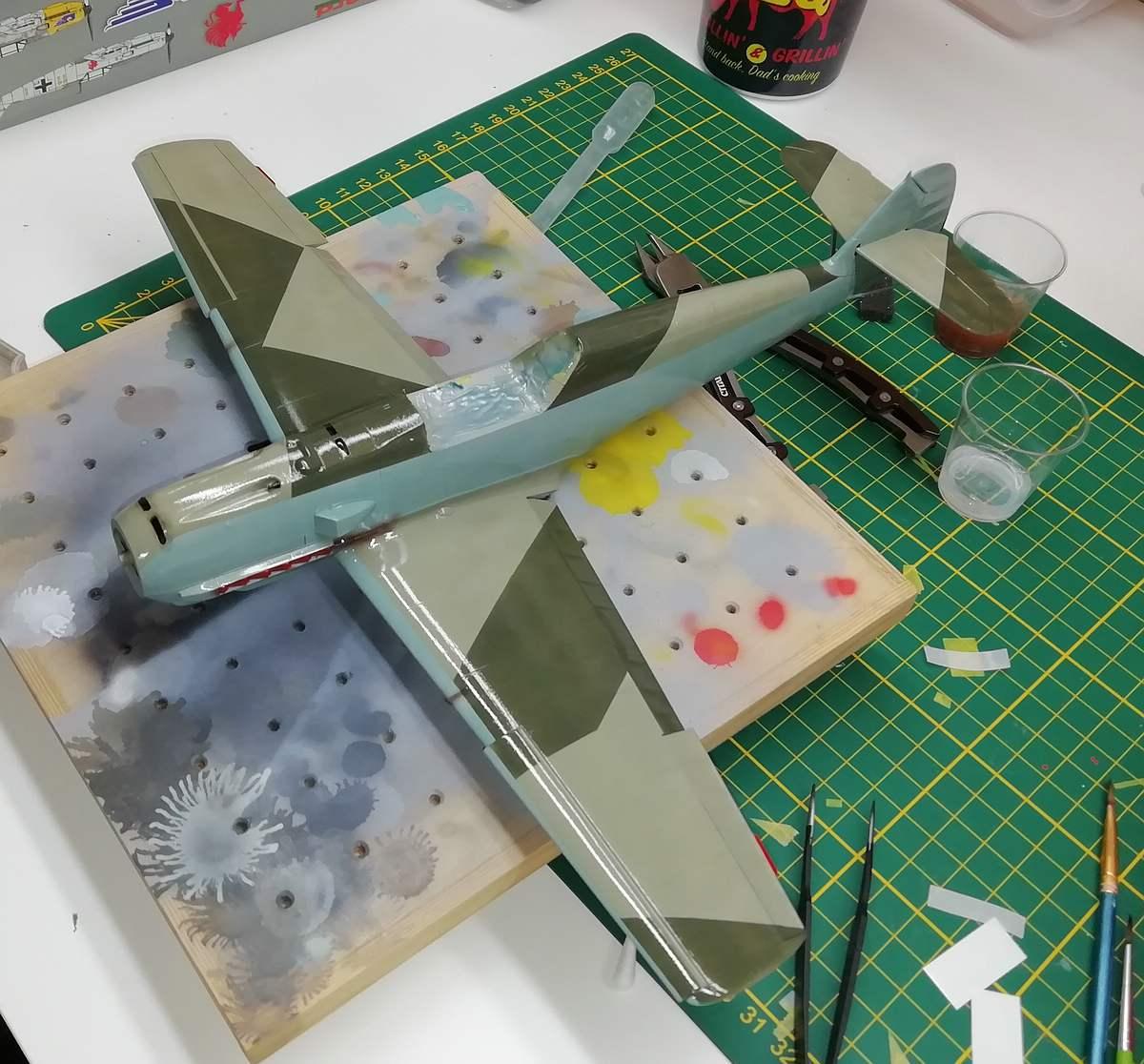 Eduard-Bf-109-E-1-Baubericht-23 Werkstattbericht: Bf 109 E-1 in 1:32 von Eduard