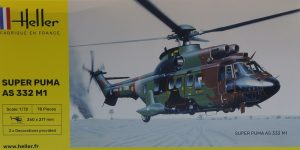 Aérospatiale AS 332 Super Puma in 1:72 von Heller # 80367