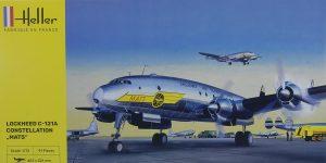 Lockheed C-121A Constellation in 1:72 von Heller #80382