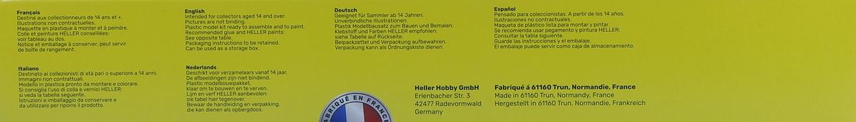 Heller-80382-Lockheed-C-121A-Constellation-Berlin-4 Lockheed C-121A Constellation in 1:72 von Heller #80382