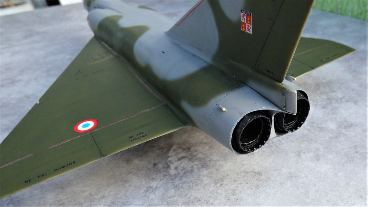 Heller-Mirage-IV-1zu48-Werkstattbericht-5 Werkstattbericht: Mirage IV in 1:48 von Heller