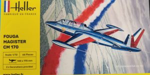 Heller Fouga Magister CM 170 in 1:72