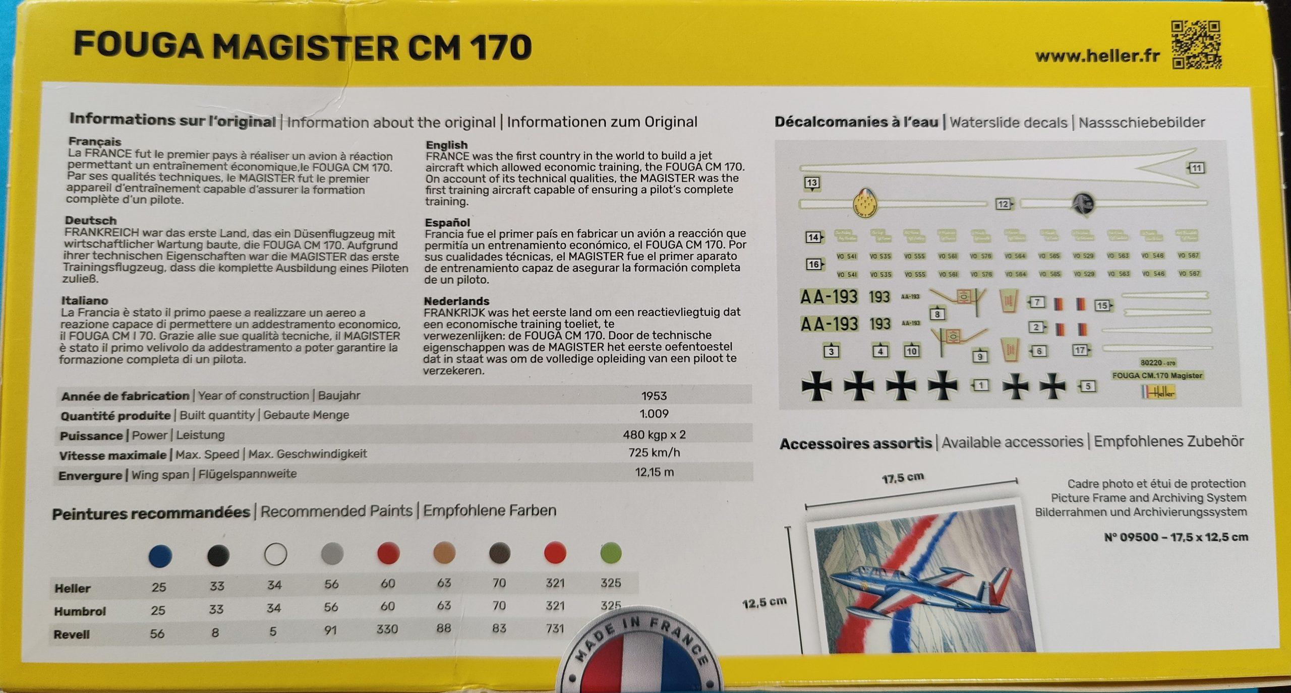 Heller_magister002-scaled Heller Fouga Magister CM 170 in 1:72