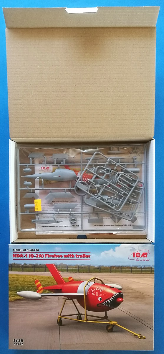 ICM-48400-KDA-1-Q-2A-Firebee-7 KDA-1 / Q-2A Firebee in 1:48 von ICM #48400