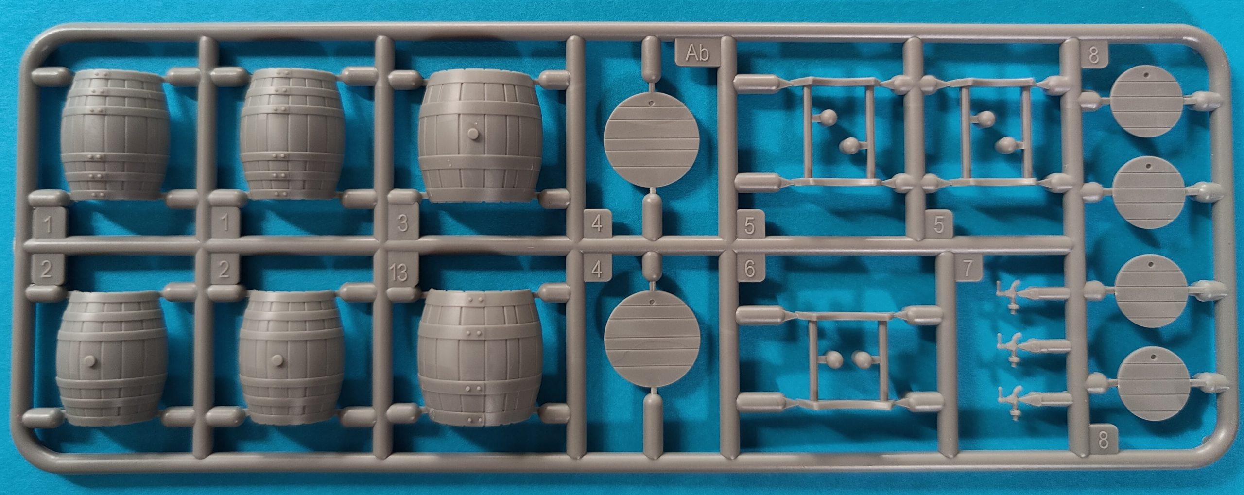 ICM_fass1003-scaled Holzfässer (Wooden Barrels) von Miniart in 1:35
