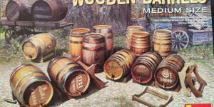 Holzfässer (Wooden Barrels) von Miniart in 1:35