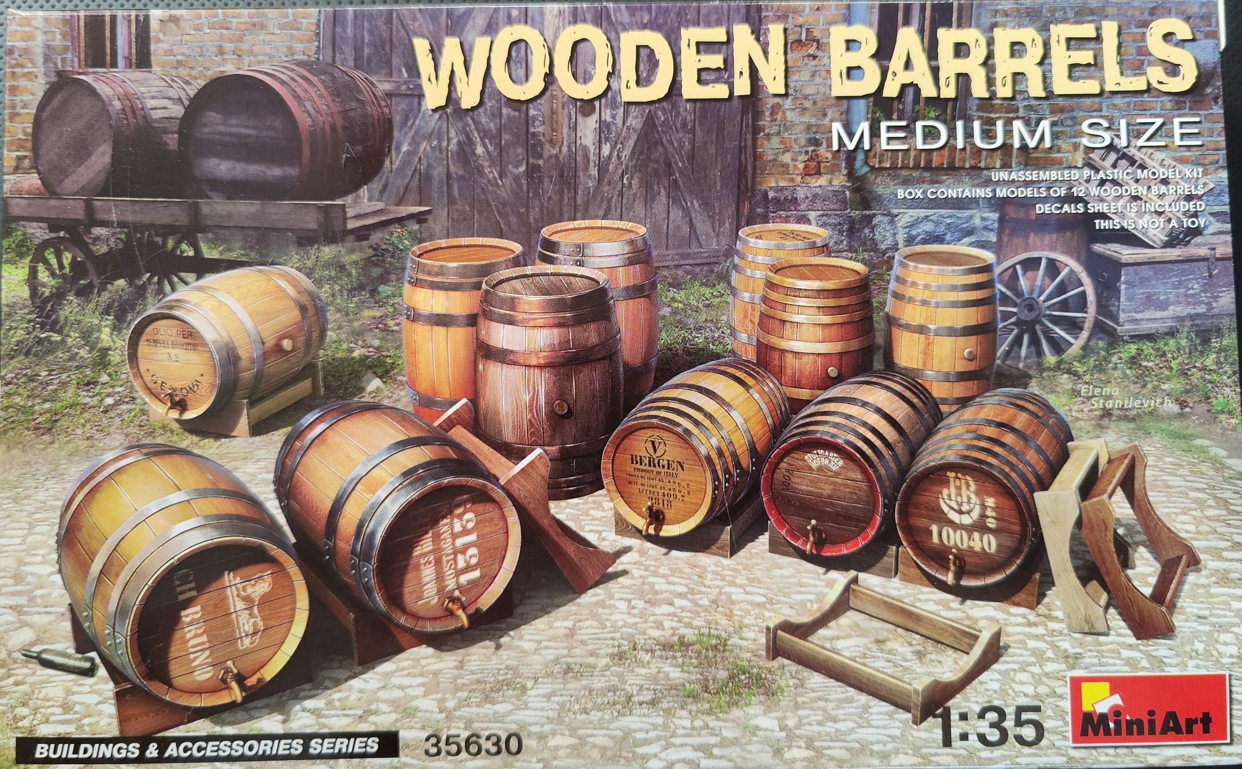 ICM_fass2001-scaled Holzfässer (Wooden Barrels) von Miniart in 1:35