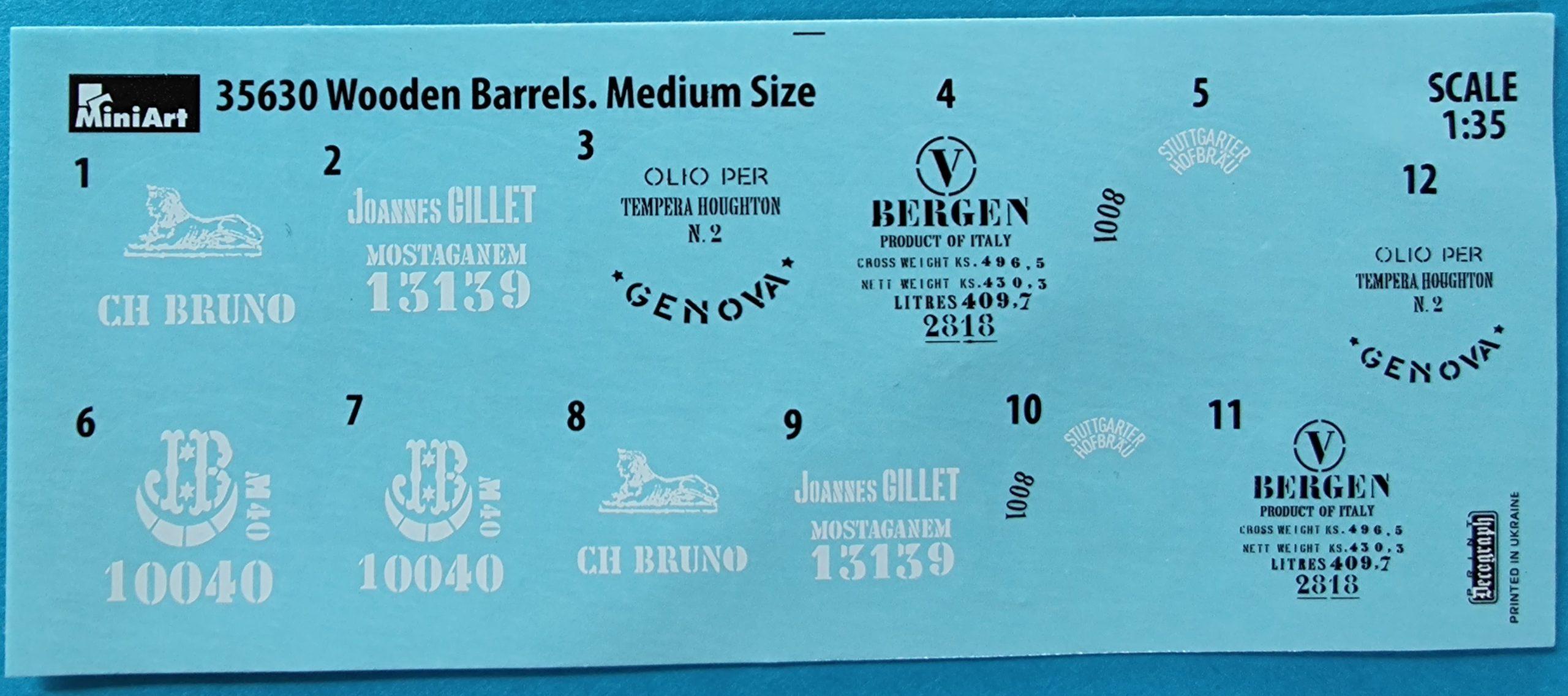 ICM_fass2007-scaled Holzfässer (Wooden Barrels) von Miniart in 1:35