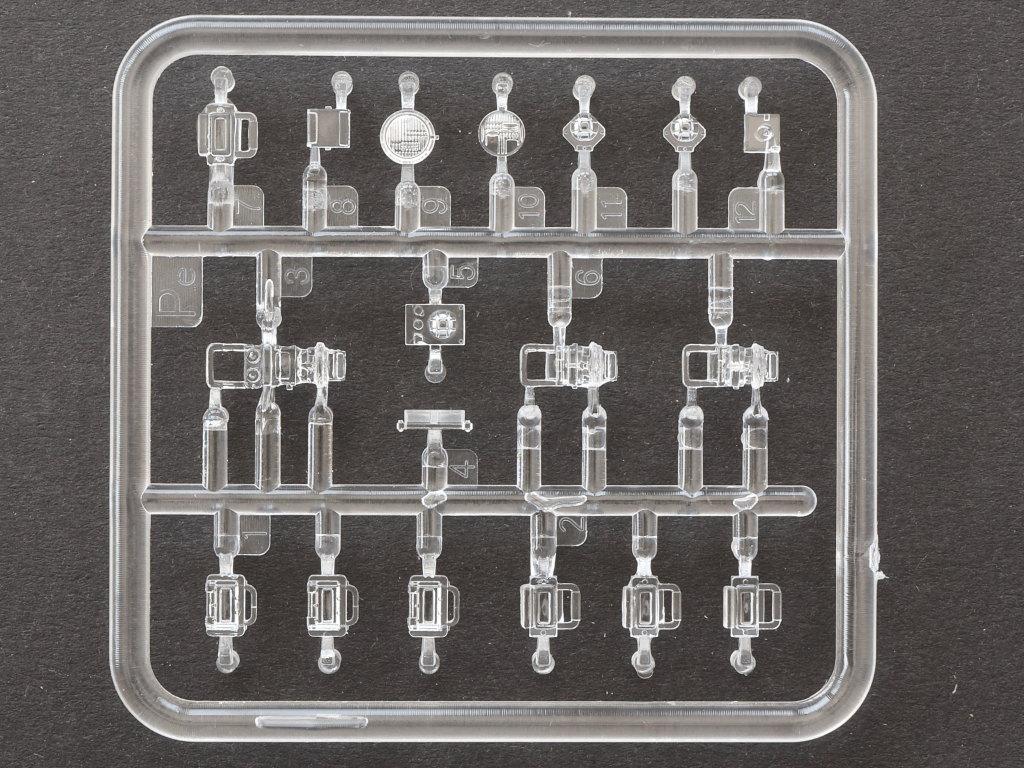 Klarsichtteile T-34/85 Mod. 1945 Plant 112 1:35 Miniart (#37091)
