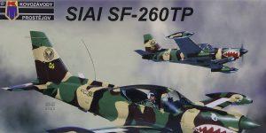 SIAI Marchetti SF 260 TP in 1:48 von Kovozavody Prostejov #KPM 4814
