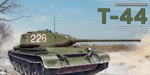 Vorschau: T-44 INTERIOR KIT von MiniArt in 1:35 # 35356