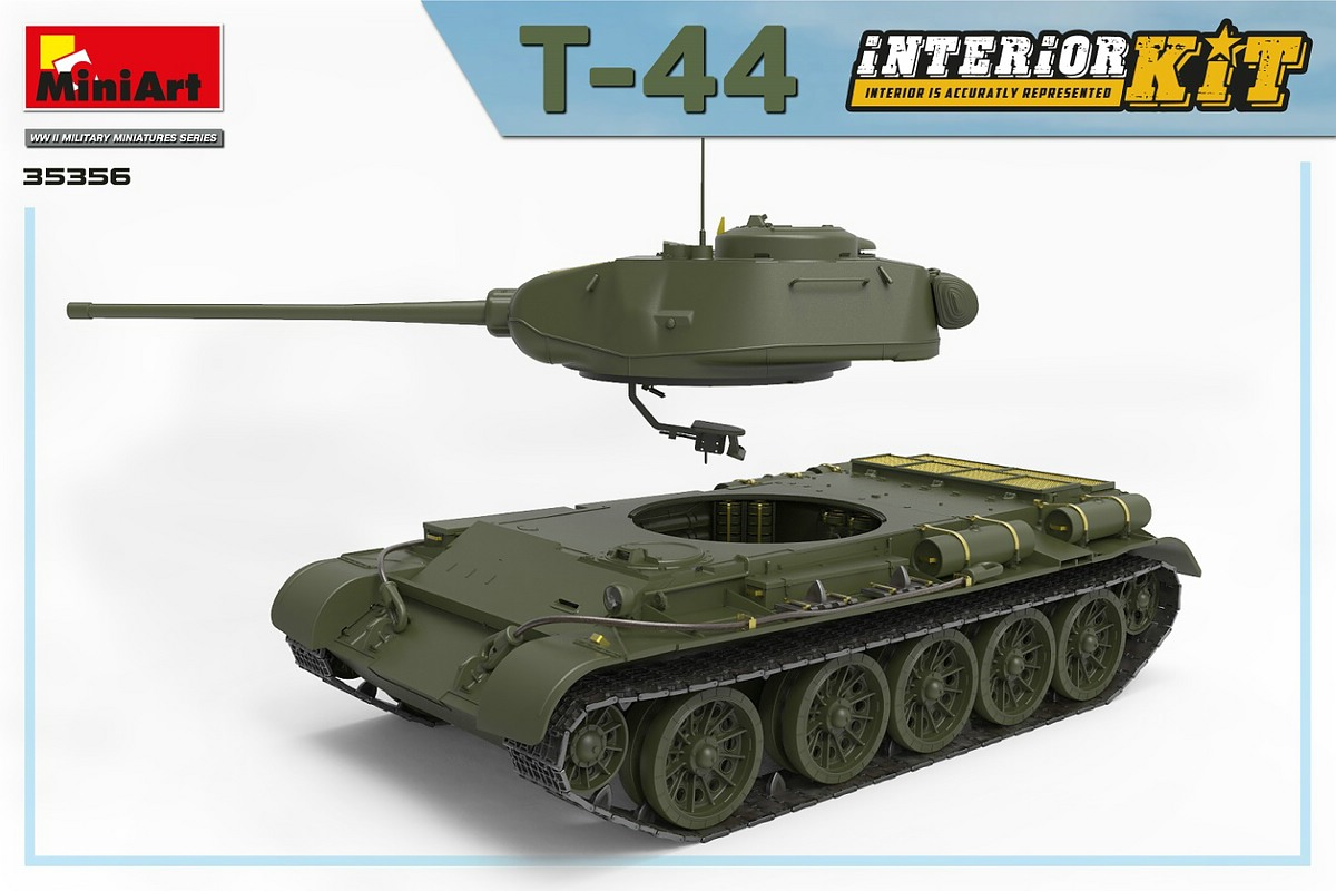 MiniArt-35356-T-44-Interior-Kit-15 Vorschau: T-44 INTERIOR KIT von MiniArt in 1:35 # 35356
