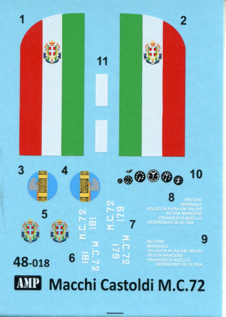 Review_AMP_Macchi_72_44 Macchi Castoldi M.C.72 --- APM 1/48