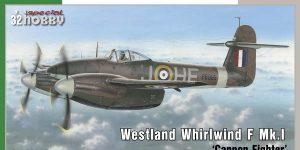 Westland Whirlwind F.Mk.I in 1:32 von Special Hobby # SH 32047