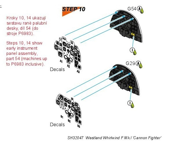 Special-Hobby-SH-32047-Westland-Whirlwind-F.Mk_.I-Bauanleitung-4-Kopie Westland Whirlwind F.Mk.I in 1:32 von Special Hobby #32047