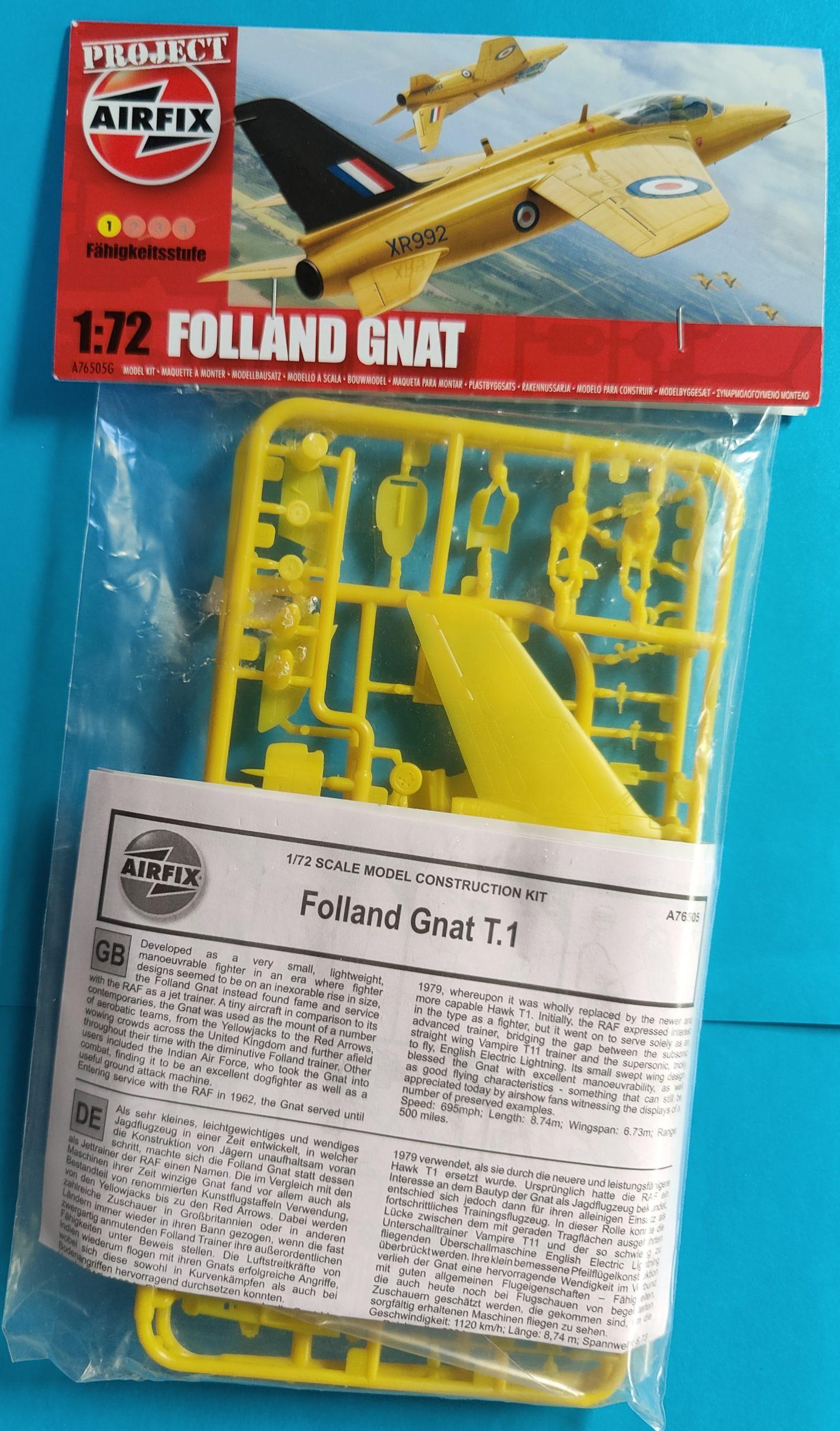 airfix_gnat001-scaled Mythen in Tüten: Airfix Folland Gnat