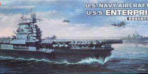 U.S. Navy aircraft carrier Enterprise (CV-6) in 1:700 von Meng