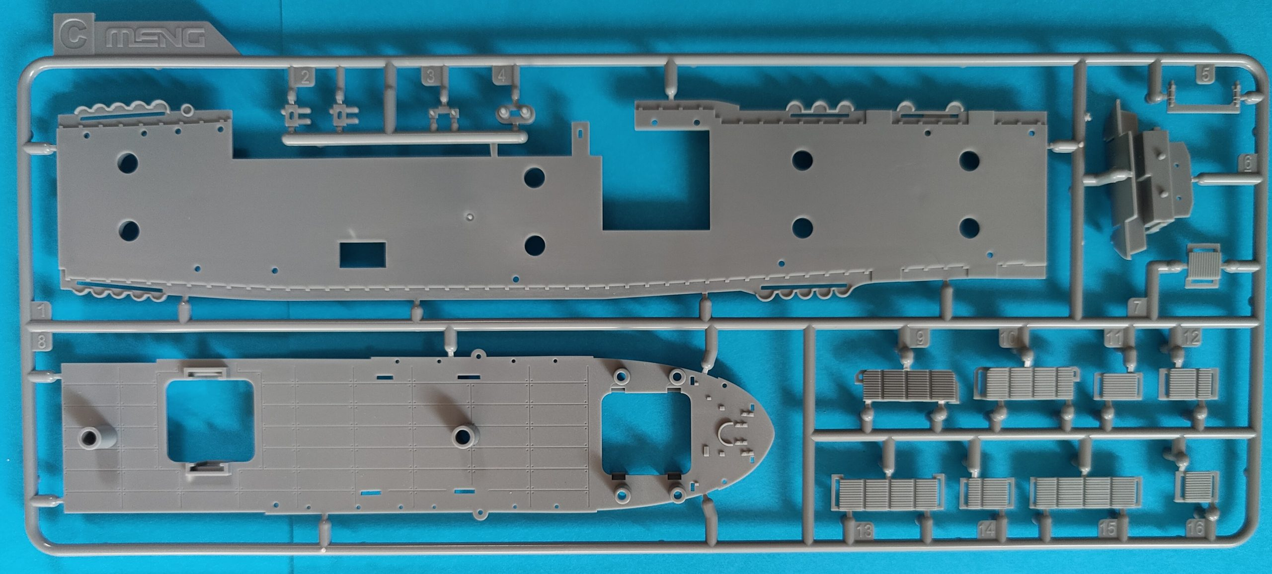 meng_enterprise006-scaled U.S. Navy aircraft carrier Enterprise (CV-6) in 1:700 von Meng
