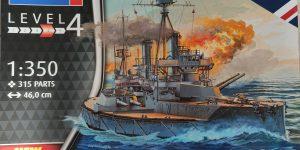 HMS Dreadnaught in 1:350 von Revell