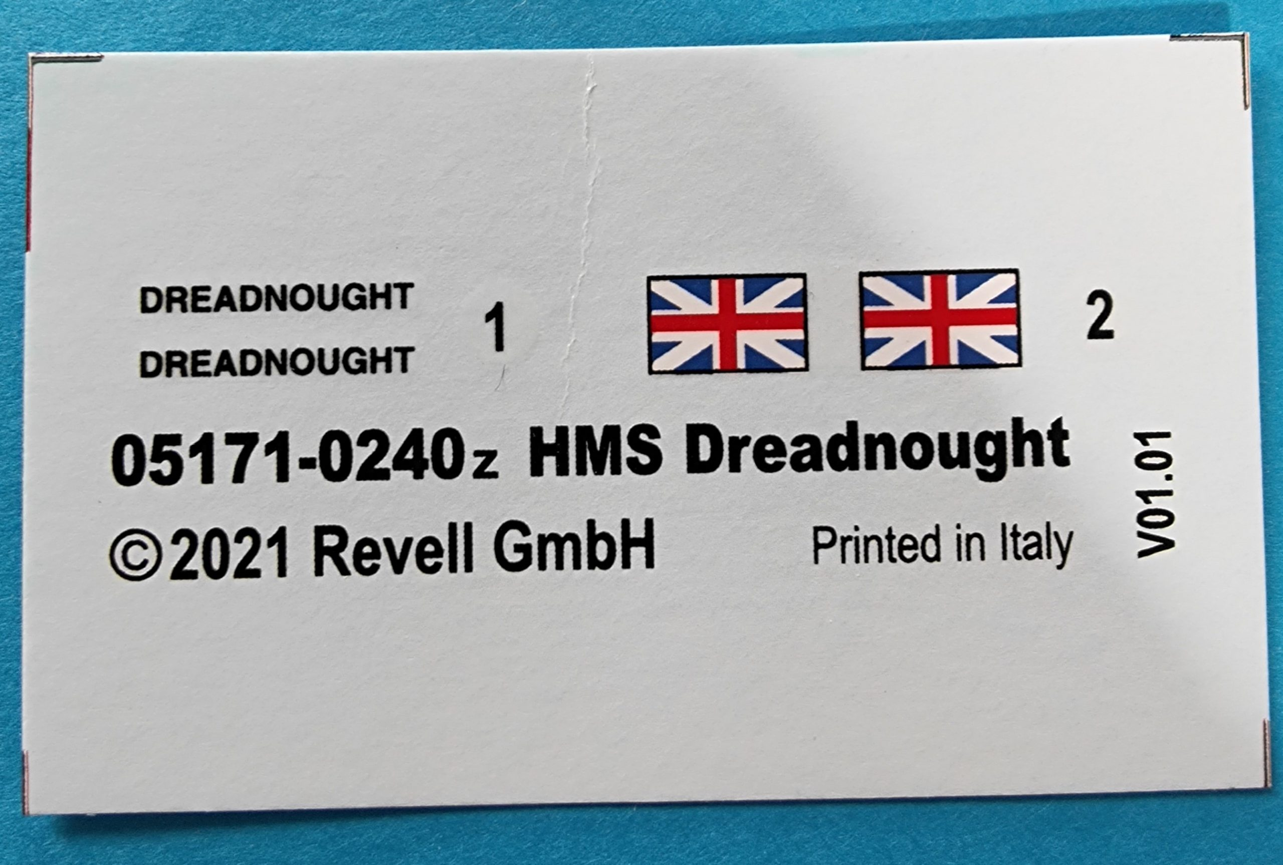 revell_dreadnaught015-scaled HMS Dreadnaught in 1:350 von Revell