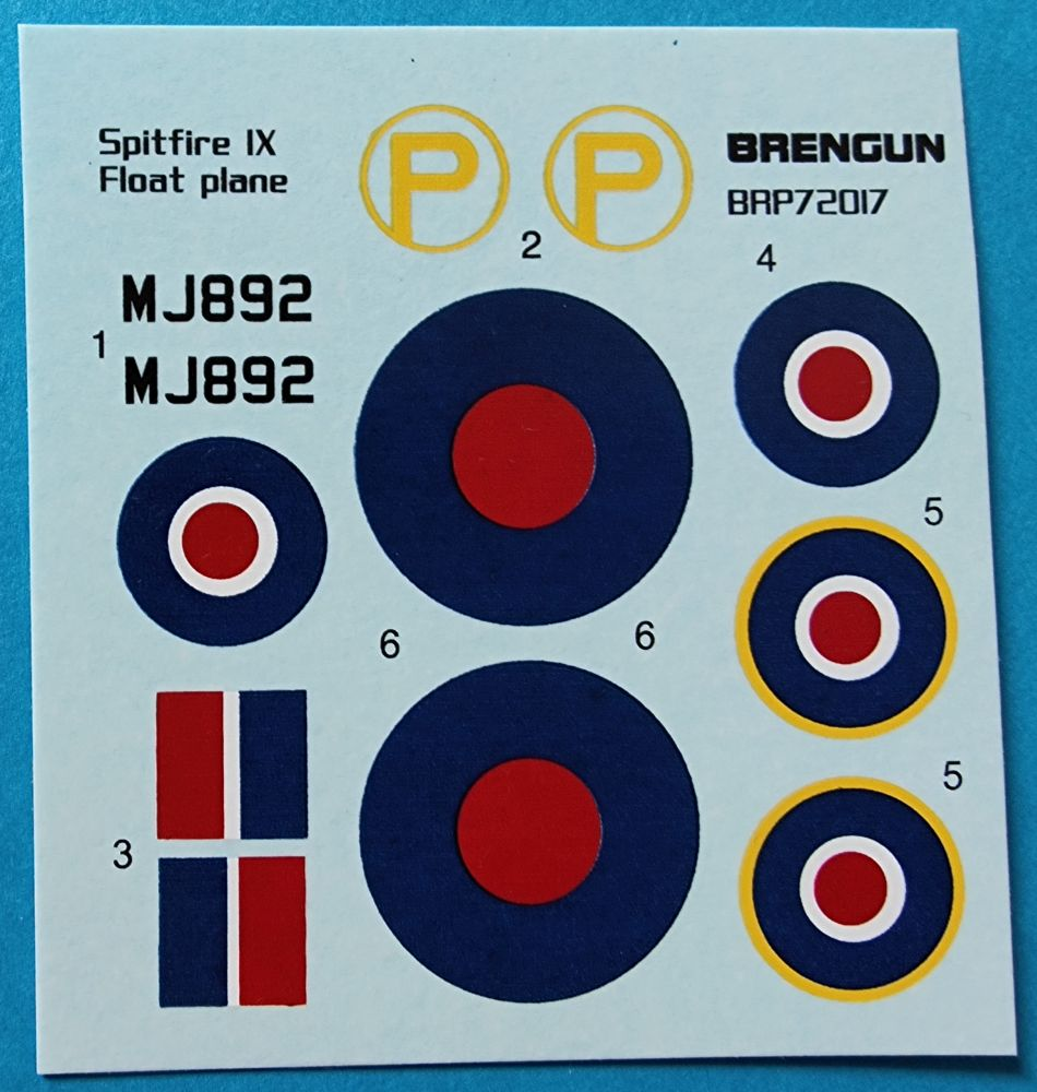 Bregun_spitfire_ixb_floatplane001 Spitfire MK IXb Floatplane in 1:72 von Bregun