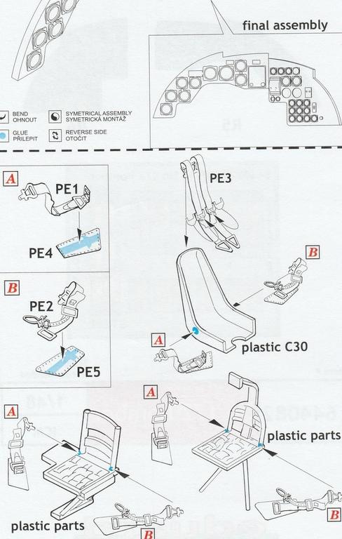 Eduard-648608-648609-644082-fuer-ICM-Do-17Z-27 Detaillierungsset von Eduard für die Dornier Do 17Z in 1:48 #648608, #648609, #644082