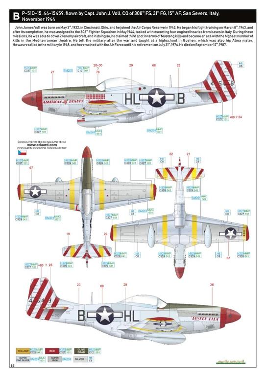 Eduard-82102-P-51D-ProfiPack-32 P-51D Mustang im neuen Profi-Pack von Eduard in 1:48 #82102
